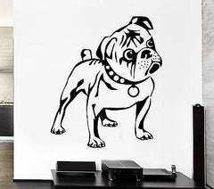 Dog Wall Stickers Puppy Animal Funny Kids Children Vinyl Decal (ig947)
