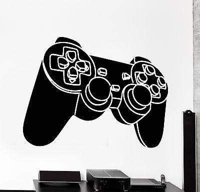 Wall Sticker Gaming Joystick Joypad Controller Gamepad Vinyl Decal Unique Gift (z3100)