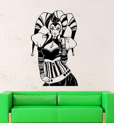 Wall Sticker Vinyl Decal Sexy Hot Girl Gothic Cool Room Decor (ig1926)