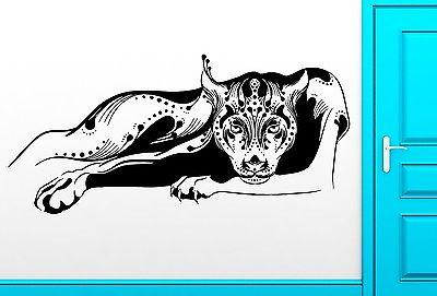 Wall Sticker Vinyl Decal Panther Cougar Aggressive Predator Decor Unique Gift (z2510)