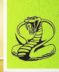 Wall Stickers Vinyl Decal Venomous Snake Reptile Animal Unique Gift (ig887)