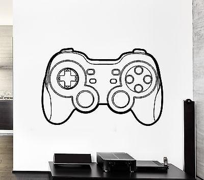 Wall Art Game Gamer Player Gaming Vinyl For Nursery Unique Gift (z2813)