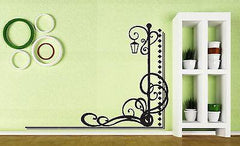 Decor Wall Sticker Vinyl Ornament Line Decoration Patterns Streetlight (n027)