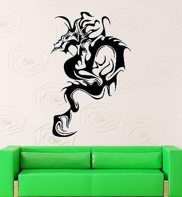 Wall Sticker Vinyl Decal Decor Modern Abstract Dragon Fantasy Unique Gift (ig1874)