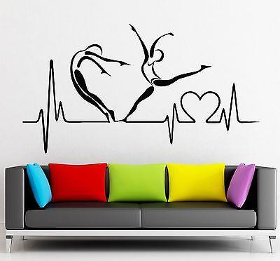 Wall Sticker Vinyl Decal Pulse Heart Health Healthy Lifestyle Hospital Unique Gift (ig2183)