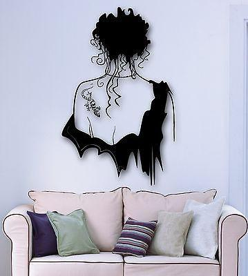 Wall Sticker Vinyl Decal Sexy Girl with Beautiful Tattoo Unique Gift (ig1816)