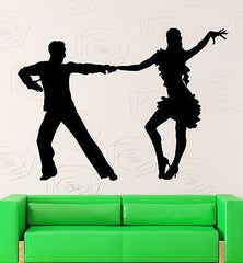 Wall Decal Latin Dance Coolest Room Decor Vinyl Stickers Art Mural Unique Gift (ig2590)