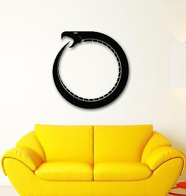 Wall Stickers Vinyl Decal Infinity Sign Snake Time Religion Unique Gift (ig1725)