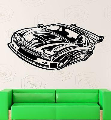 Wall Sticker Vinyl Decal Race Car Rally Speed Garage Room Decor Unique Gift (ig2171)