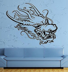 Wall Decal Dragon Myth Middle Age Fantasy Monster Cool Interior Unique Gift (z2706)