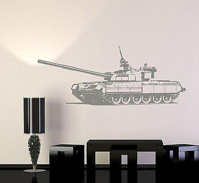 Wall Vinyl Heavy Tank Military Forces War Guaranteed Quality Decal Unique Gift (z3433)