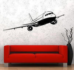 Wall Vinyl Airliner Airplane Aircraft Guaranteed Quality Decal (z3482)