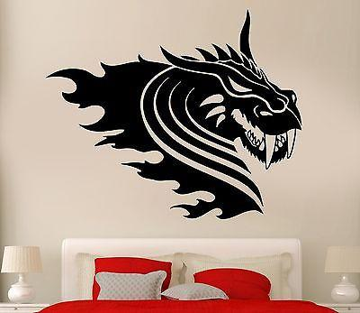 Wall Decal Dragon Myth Movie Fantasy Monster Cool Decor For Kids Unique Gift (z2695)