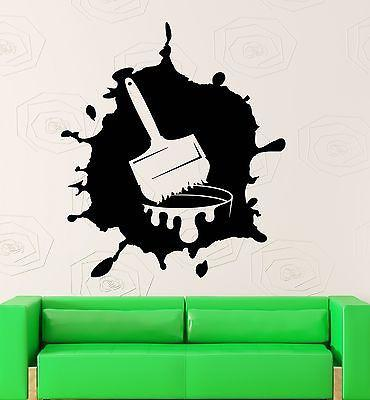 Wall Sticker Vinyl Decal Paint Modern Art Room Decor Home Unique Gift (ig2158)