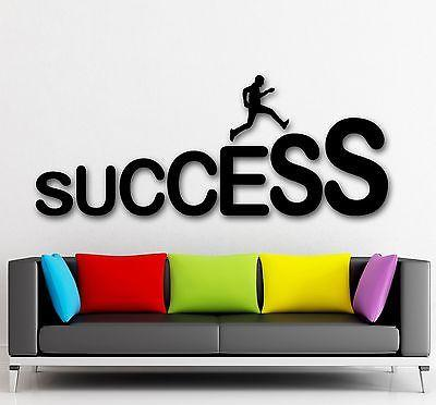 Wall Sticker Vinyl Decal Success Career Ladder Job Luck Positive Decor (ig2137)