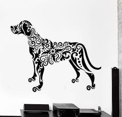 Wall Decal Pets Dog Animal Ornament Tribal Mural Vinyl Decal (z3306)