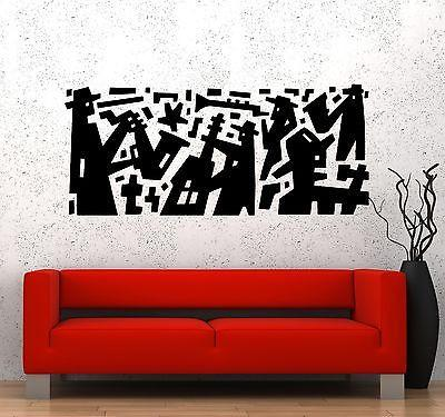 Wall Decal Music Jazz Band Modern Art Vinyl Sticker Unique Gift (z3590)
