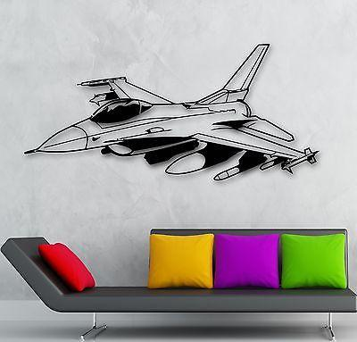 Military And Patriotic Wall Vinyl Decal  Wallstickersyou - Vinyl wall decals airplane