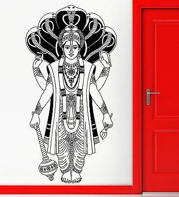 Wall Sticker Vinyl Decal Hinduism Indian God Religion Cool Decor Unique Gift (z2451)
