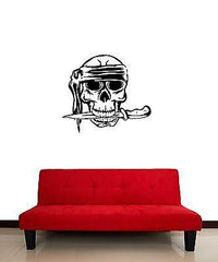 Wall Stickers Vinyl Decal Bandana Pirate Skull Dagger Corsair Unique Gift (ig867)