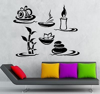 Wall Sticker Vinyl Decal Beauty Salon Spa Massage Relax Decor Unique Gift (ig2087)