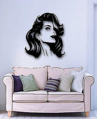 Wall Stickers Vinyl Decal Hot Sexy Girl Hairstyle Beauty Salon Unique Gift (ig846)