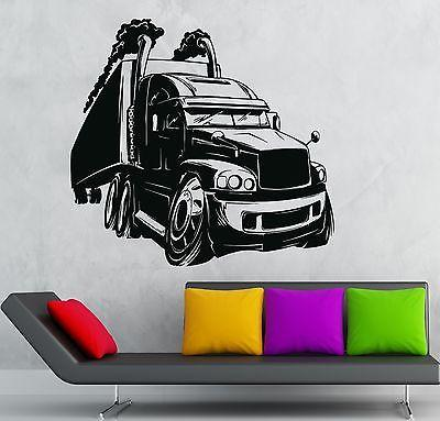 Wall Sticker Vinyl Decal Cool Car Truck For Garage Decor Kids Baby Room Unique Gift (ig2148)