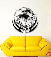 Wall Stickers Vinyl Decal Bird Eagle Tribal Predator Decor for Room Unique Gift (ig571)