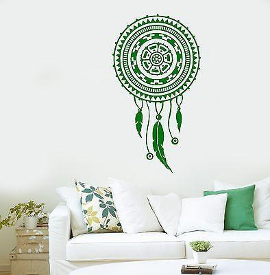 Wall Sticker Dreamcatcher Dream Catcher Feather Ornament For Bedroom Unique Gift (z2793)