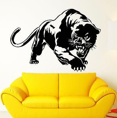 Wall Stickers Vinyl Decal Predator Panther Animal Tribal Unique Gift (ig1780)