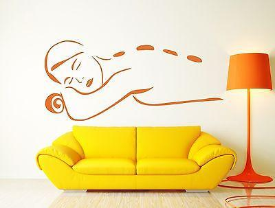Wall Sticker Vinyl Decal  Spa Beauty Salon Massage Relaxation Meditation Unique Gift (n125)