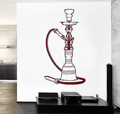 Wall Vinyl Hookah Shisha Smoking Cool For Restaurant Decal Unique Gift (z3411)