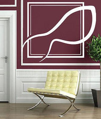 Wall Vinyl Sticker Decal Points Clear View Window Decor Unique Gift (n164)