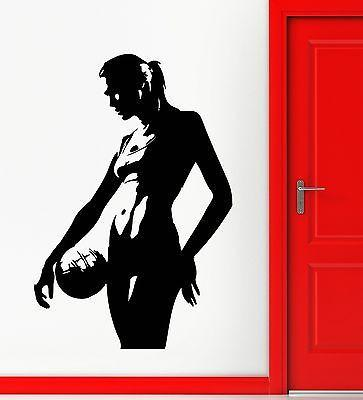 Volleyball Vinyl Decal Silhouette Sexy Girl Sports Wall Stickers Unique Gift (ig2330)