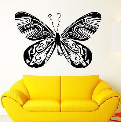 Wall Stickers Vinyl Decal Beautiful Butterfly Decor Living Room Unique Gift (ig1813)
