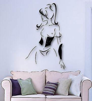 Wall Stickers Vinyl Decal Hot Sexy Girl Lingerie Abstract Decor (ig1779)