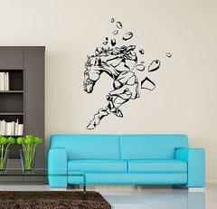 Wall Vinyl Horse Mustang Rocks Animal Ornament Mural Vinyl Decal (z3359)