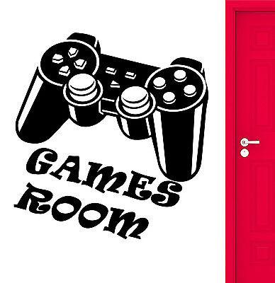 Wall Stickers Games Room For Kids Nursery Video Game