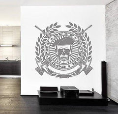 Wall Vinyl Army Soldier Honor Duty Guaranteed Quality Decal (z3461)