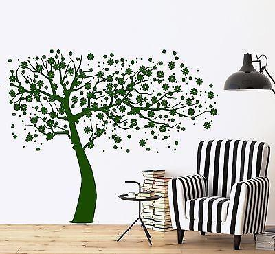 Wall Decal Tree Branch Cherry Tree Vinyl Sticker Unique Gift (z3632)