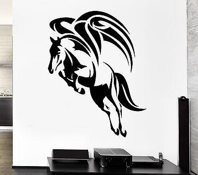 Wall Decal Wings Flying Horse Pegasus Mythology Ancient Vinyl Stickers Unique Gift (ed252)