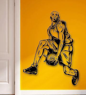 Wall Stickers Vinyl Decal Basketball Player Sports Decor Fans (ig1754)