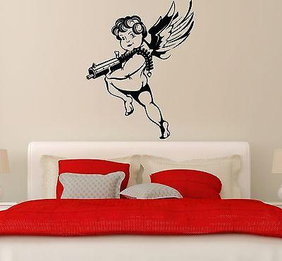 Wall Stickers Vinyl Decal Cupid Love Romantic Cool Bedroom Decor (ig1773)