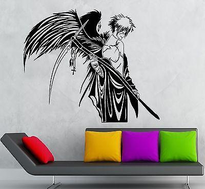 Wall Stickers Vinyl Decal Anime Warrior for Kids Room Angel of Death Unique Gift (ig1781)