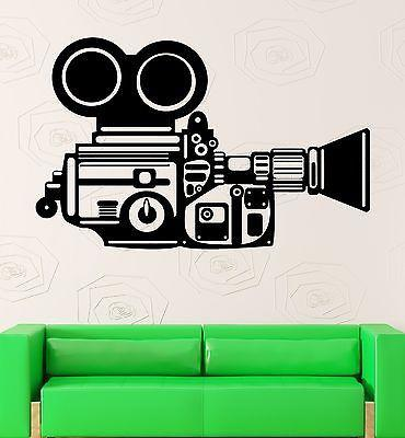 Wall Stickers Camera Operator Film Movie Cinema Vinyl Decal Unique Gift (ig2433)