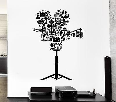 Wall Decal Camcorder Movie The Film Cinema Theater Art Vinyl Stickers Unique Gift (ed122)