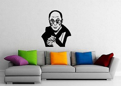 Wall Sticker Vinyl Decal Dalai Lama Tibet Buddhism Religion Unique Gift (ig1177)