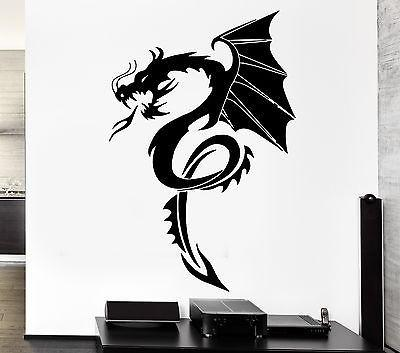 Wall Decal Dragon Myth Movie Fantasy Monster Cool Decor Unique Gift (z2693)