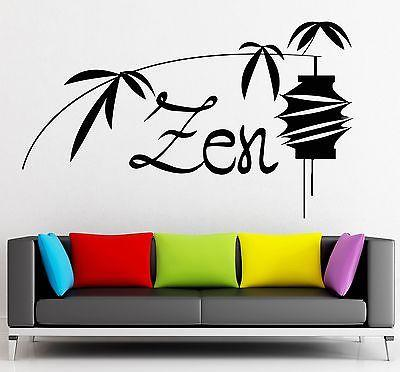 Wall Sticker Vinyl Decal Zen Meditation Yoga Buddhism Nirvana Unique Gift (ig2299)
