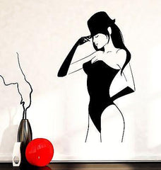 Wall Decal Sexy Young Woman In Lingerie Hot Vinyl Sticker Unique Gift (z3610)